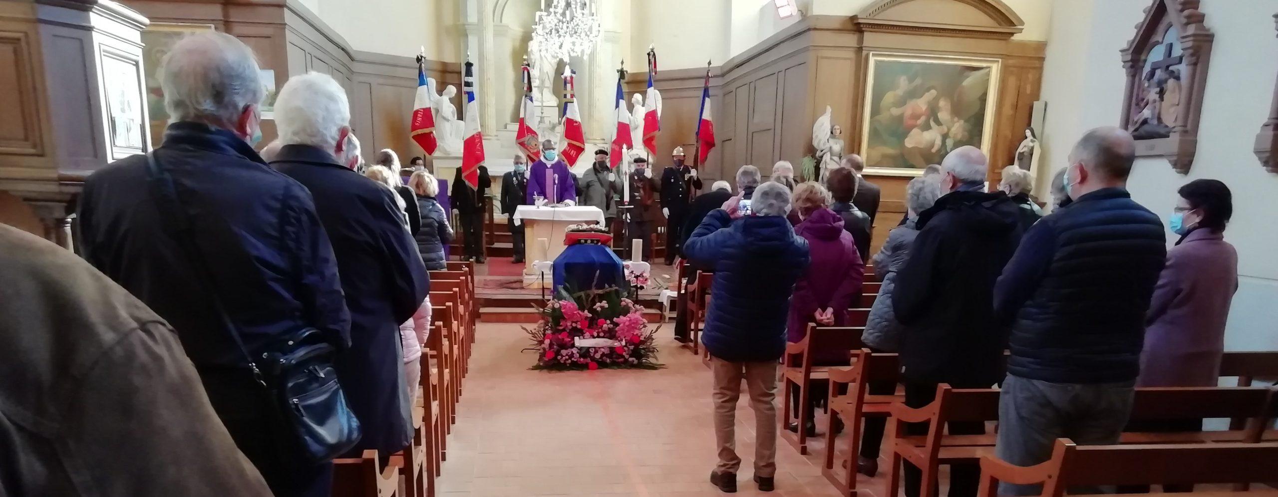 Obsèques du Président Albert TARNAUD