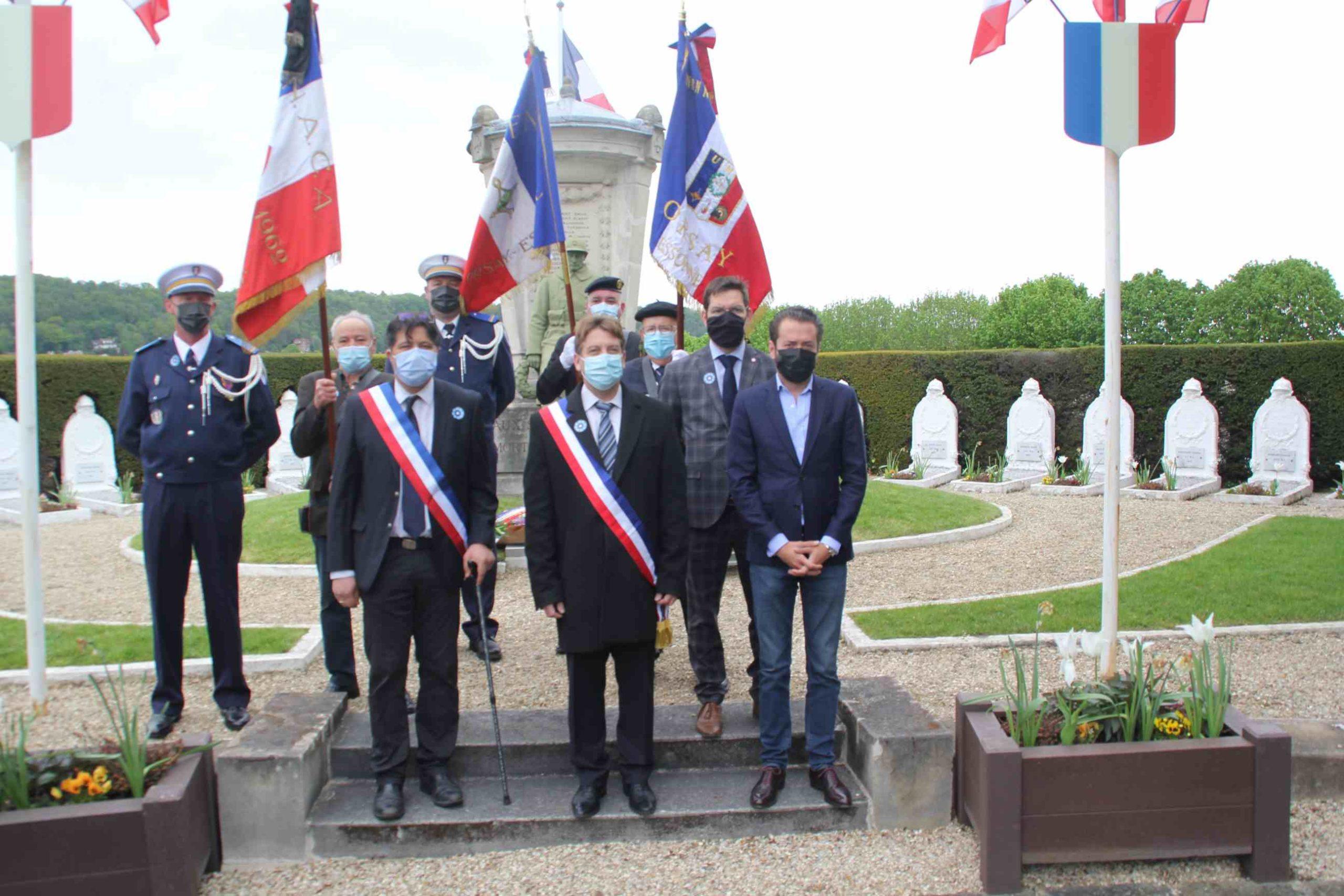 8 mai 2021 à Orsay