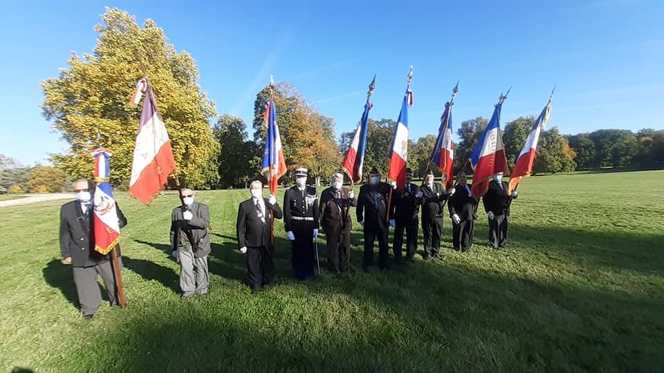 Prise de commandement du Chef d'escadron Martin Commandant de la Gendarmerie d'Étampes